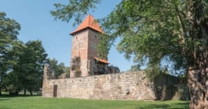 trasy rowerowe Tarnowskie Góry - Zamek w Chudowie